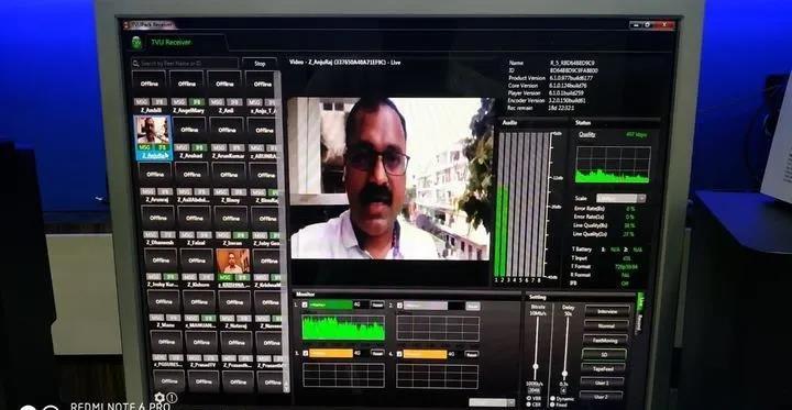 央视报道路由器_TVU手机直播方案助力印度Asianet扩展新闻业务 - TVU Networks